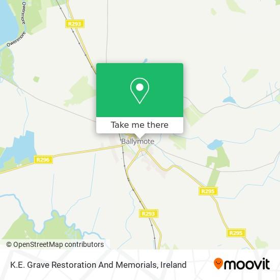 K.E. Grave Restoration And Memorials map