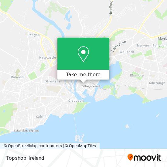 Topshop map