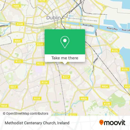 Methodist Centenary Church map