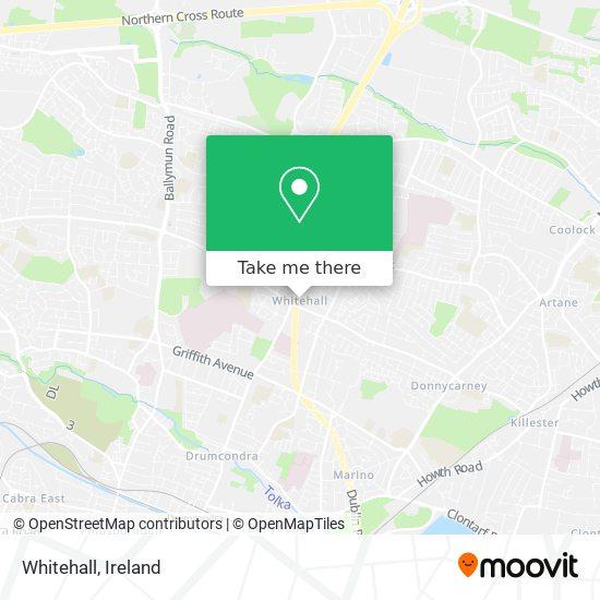 Whitehall map