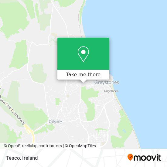 Tesco map