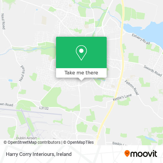 Harry Corry Interiours map