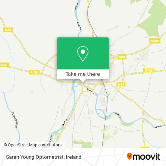 Sarah Young Optometrist map
