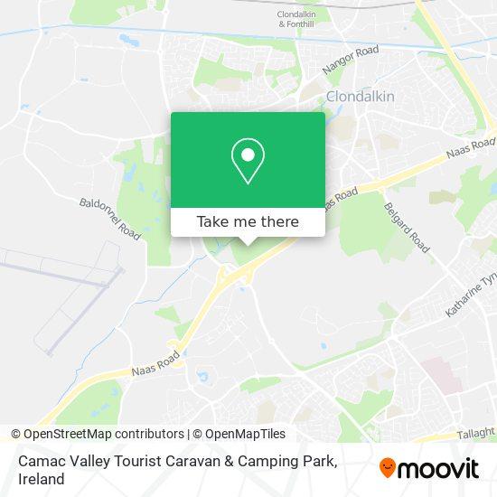 Camac Valley Tourist Caravan & Camping Park map