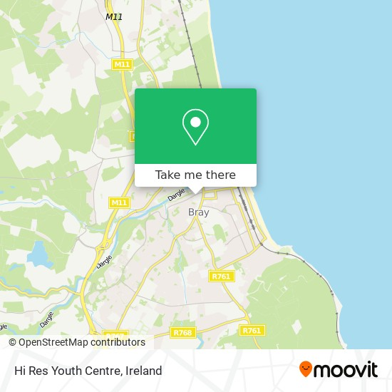 Hi Res Youth Centre, Most Holy Redeemer Parish map