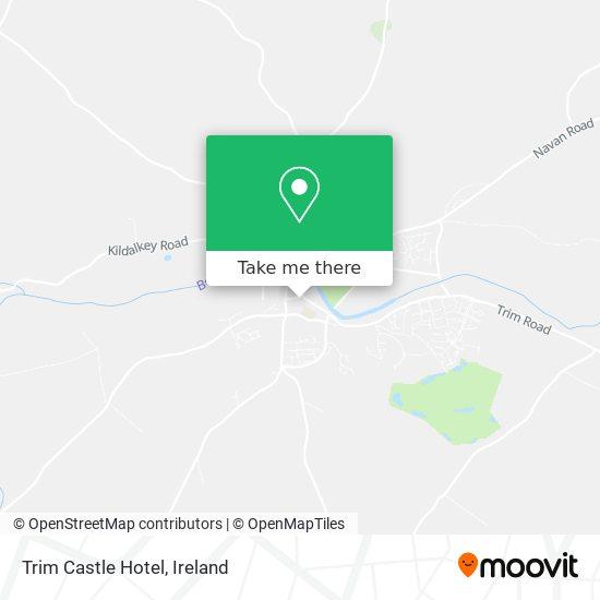 Trim Castle Hotel map