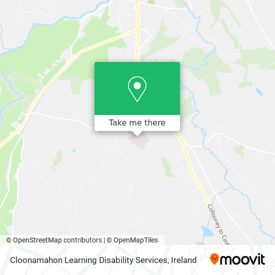 Cloonamahon Learning Disability Services map