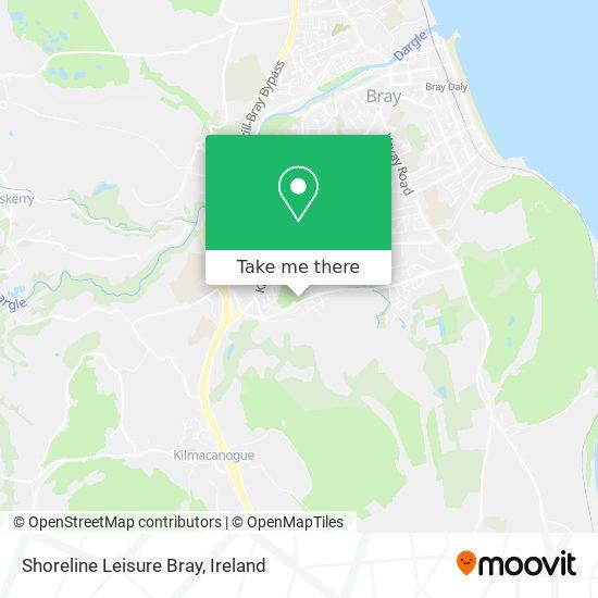 Shoreline Leisure Bray map