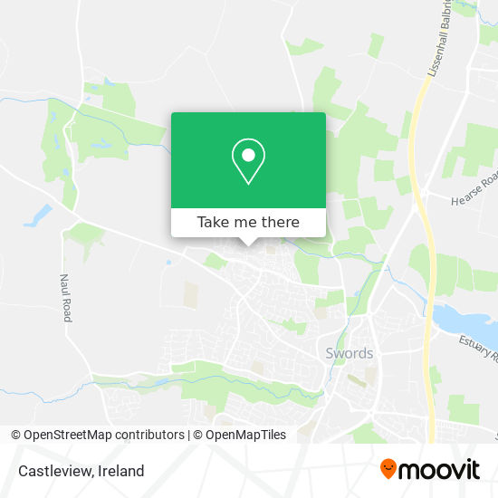 Castleview map