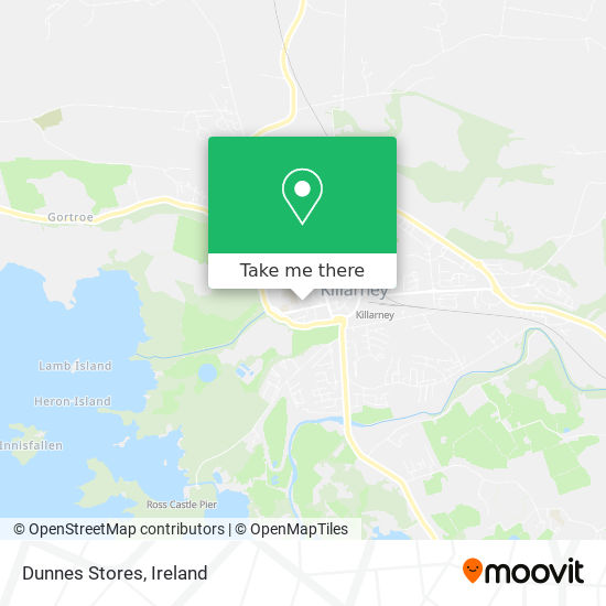 Dunnes Stores map