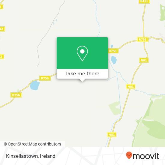 Mapa Kinsellastown