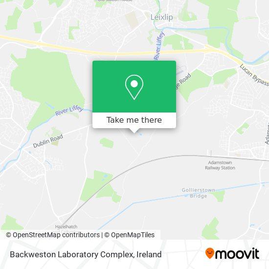 Backweston Laboratory Complex map