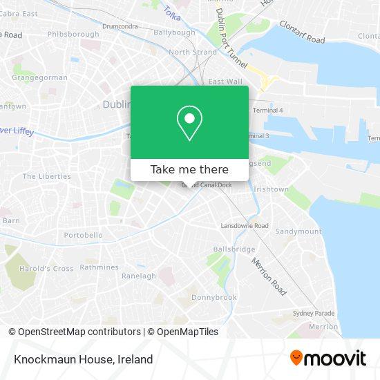 Knockmaun House map