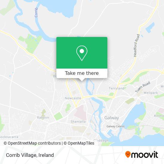 Corrib Village map