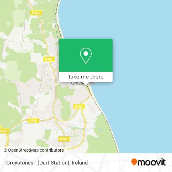 Greystones - (Dart Station) plan