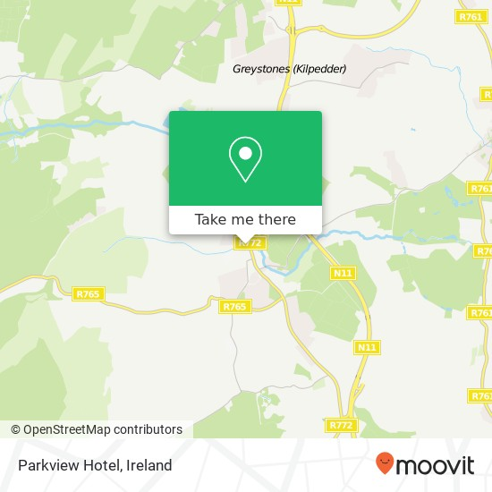 Parkview Hotel map