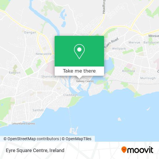 Eyre Square Centre plan