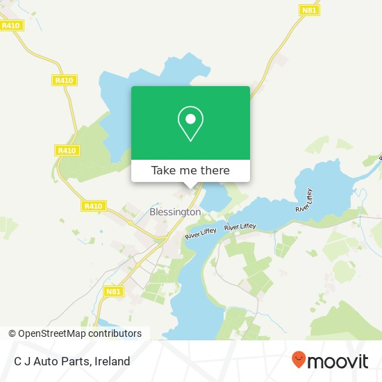 Mapa C J Auto Parts