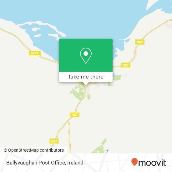 Mappa Ballyvaughan Post Office