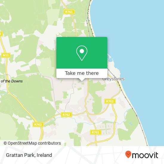 Mapa Grattan Park