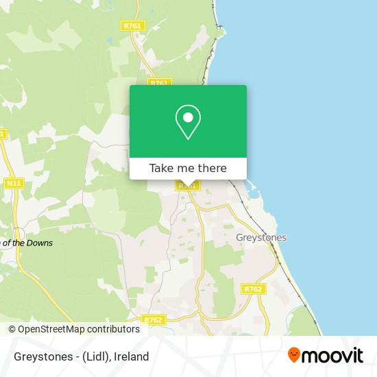 Greystones - (Lidl) plan