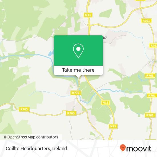Mappa Coillte Headquarters