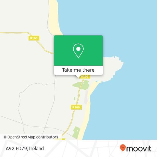 Mapa A92 FD79