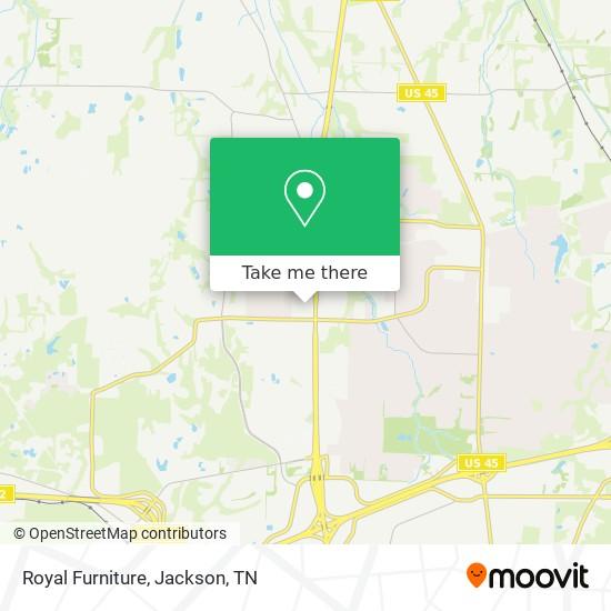 Royal Furniture In Jackson By Bus Moovit, Furniture Jackson Tn
