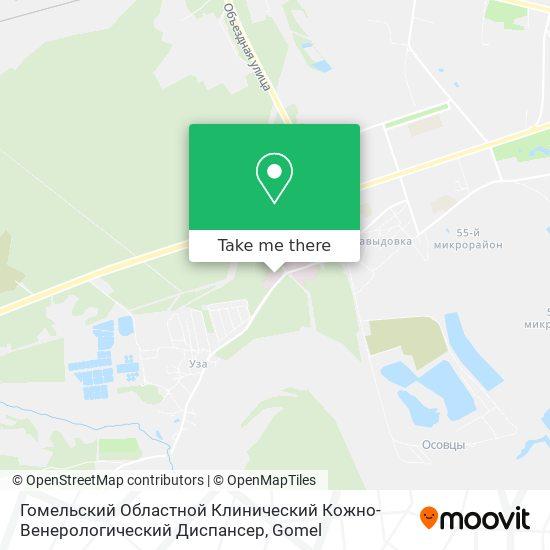 Кож-Вен Диспансер map