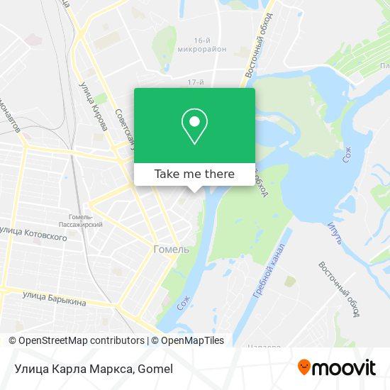 Улица Карла Маркса map