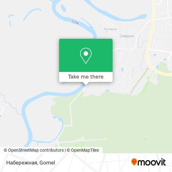 Набережная map