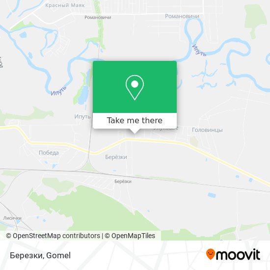 Березки map