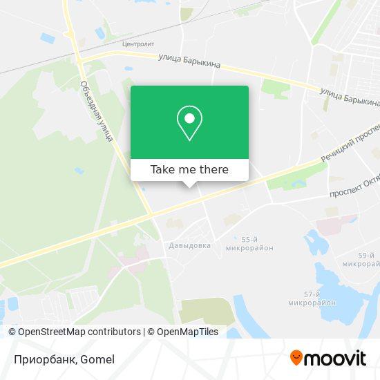 Приорбанк map