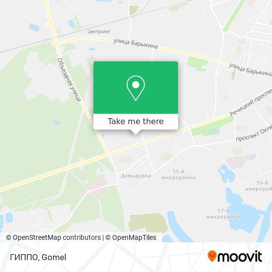ГИППО map