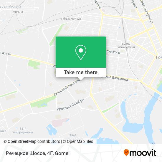 Речецкое Шоссе, 4Г map