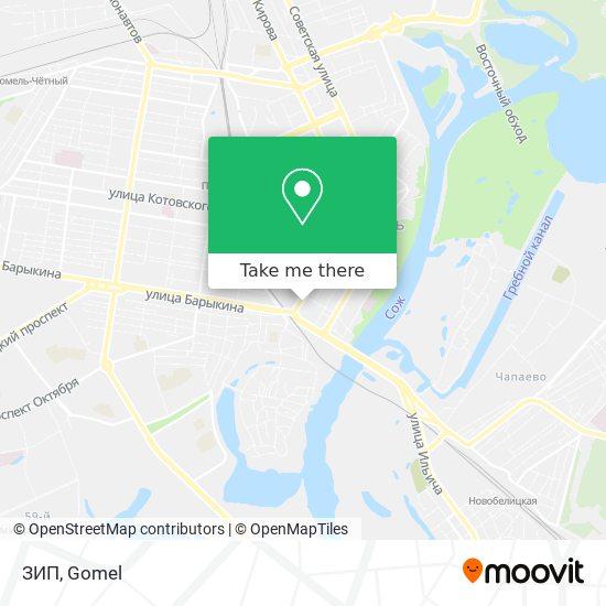 ЗИП map