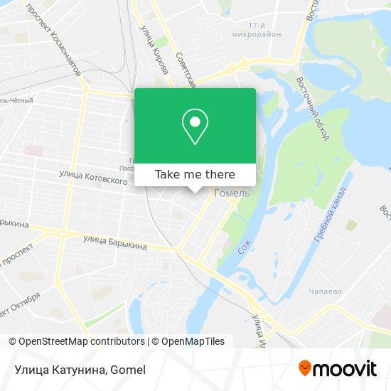 Улица Катунина map