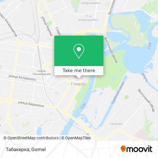 Табакерка map