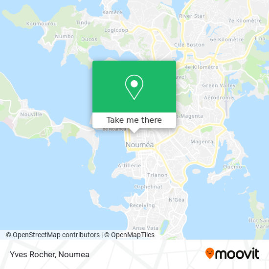 Yves Rocher map