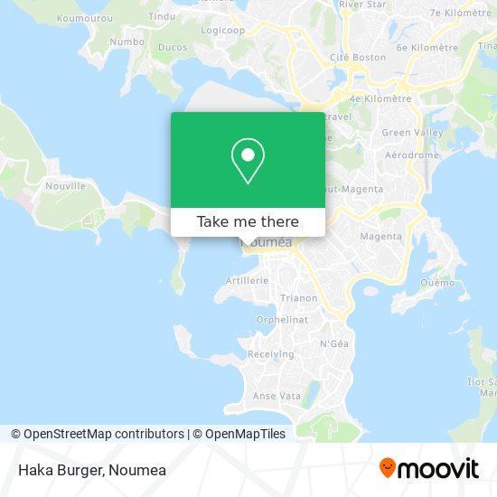 Haka Burger map