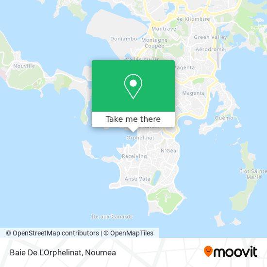 Baie De L'Orphelinat map