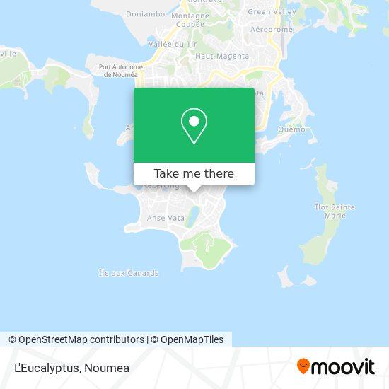 L'Eucalyptus map