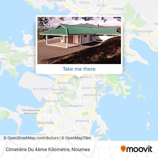 Cimetière Du 4ème Kilomètre map