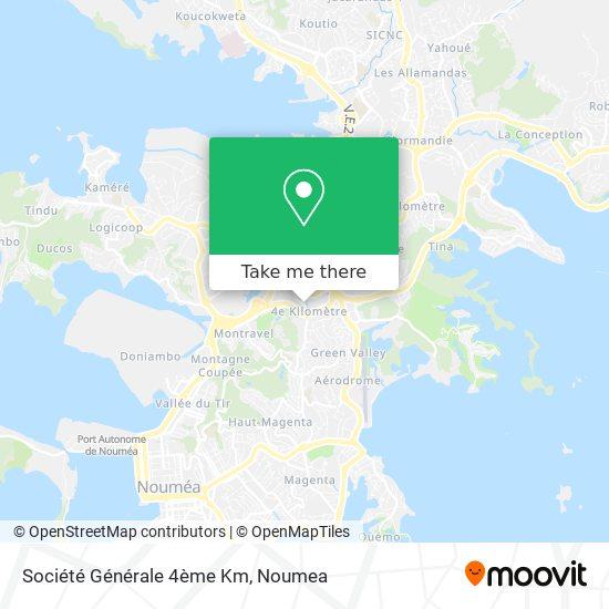 Société Générale 4ème Km map