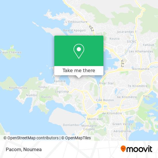 Pacom map