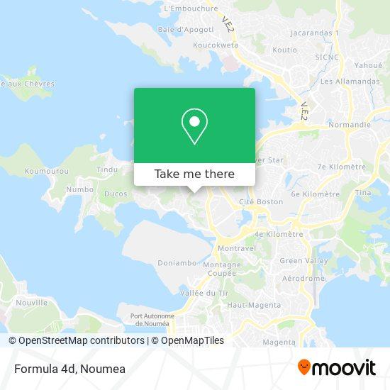 Formula 4d map