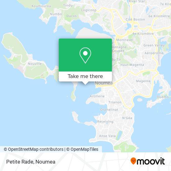 Petite Rade map