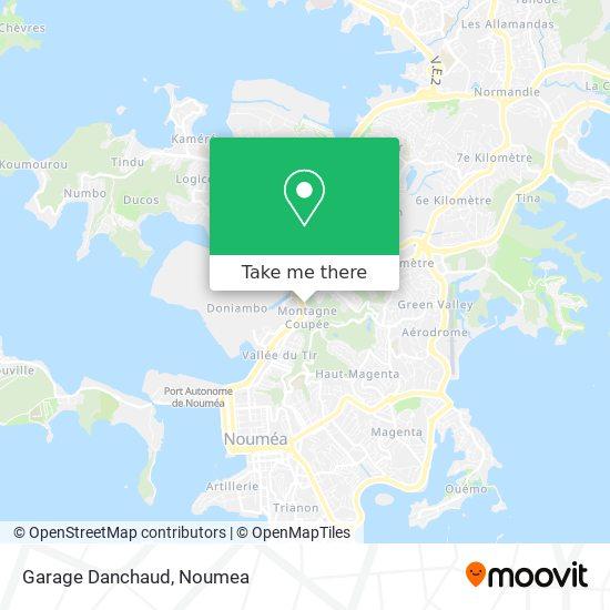 Garage Danchaud map