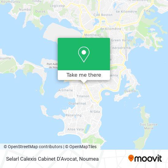 Selarl Calexis Cabinet D'Avocat map