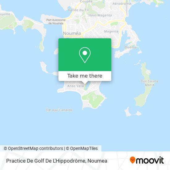 Practice De Golf De L'Hippodrôme map